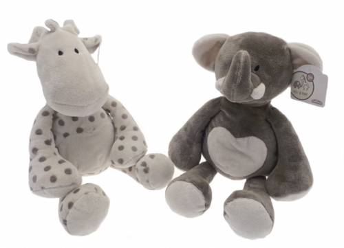 Elli & Raff 25cm Soft Toy (Gray)